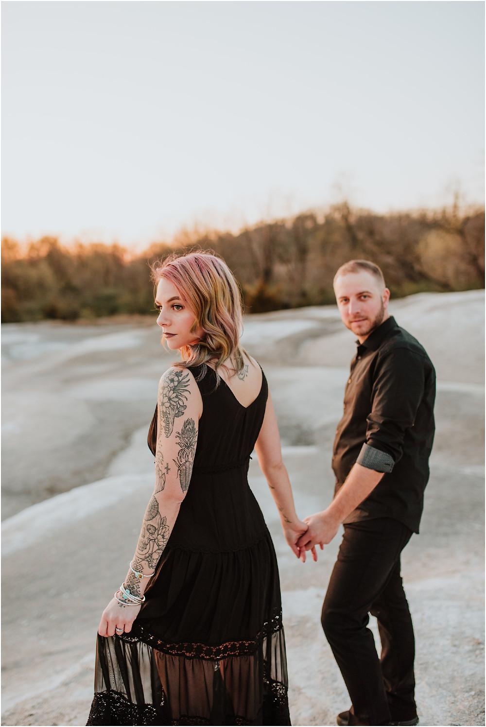 Romantic Lancaster Engagement Session by Karen Rainier Photography