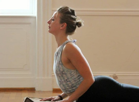 My name is Louise  @bemovedyoga & this is my #yogasavedmylife story