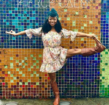 Meet @majesticmuva sharing her #Yogasavedmylife story with us 💚