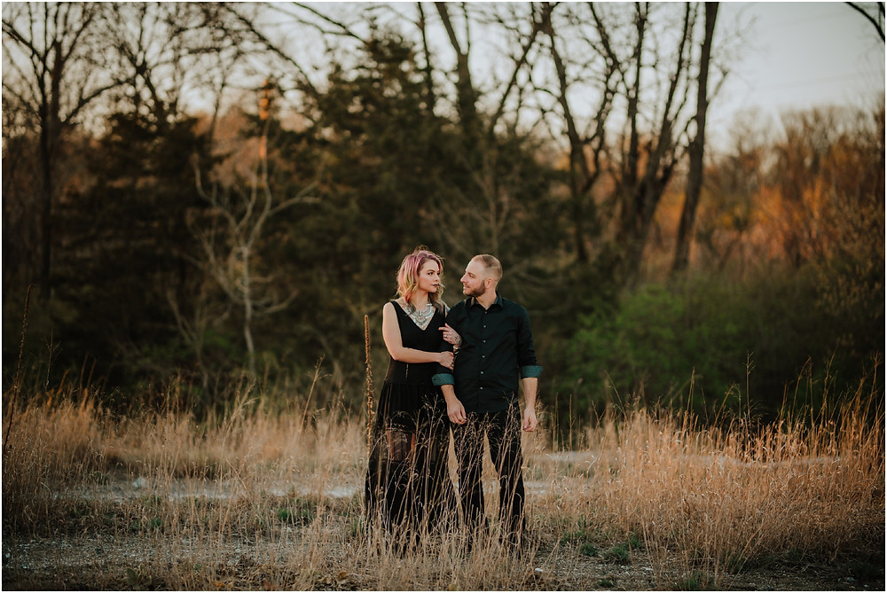 Moody Pennsylvania Engagement Session by Karen Rainier Photography