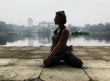 Meet Layla @ground_up_yoga sharing her #yogasavedmylife story. These are her words 💚