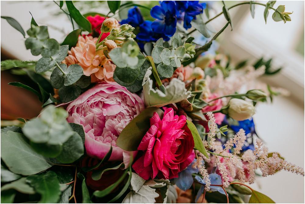 Colorful Bouquet Karen Rainier Photography