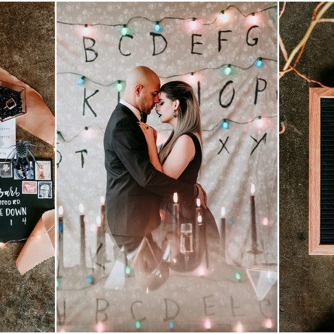 Stranger Things Industrial Chic Wedding Inspiration // Pennsylvania Wedding Photographer