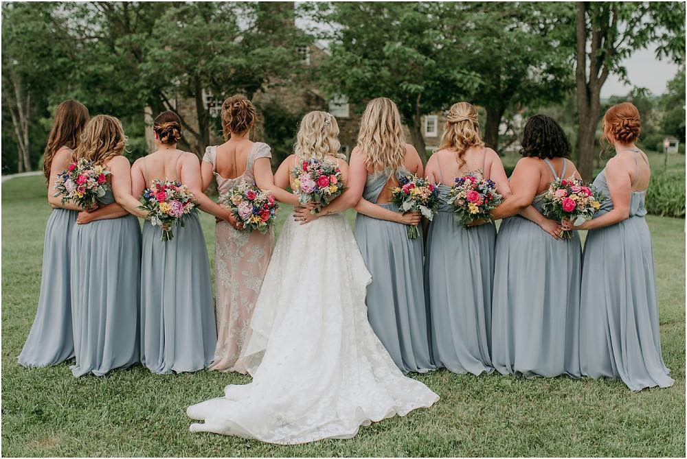 Colorful Maryland Wedding