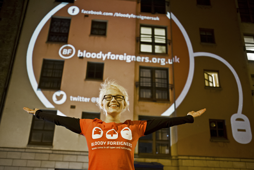 Bloody Foreigners Campaign 2015