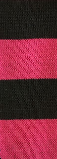 Black Pink Sweater Fabric Hachii Hachi Striped clothing polyester Rayon Spandex Color Style Trend Striped Textiles Fabric Manufacturing