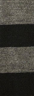 Black Charcoal Sweater Fabric Hachii Hachi Striped clothing polyester Rayon Spandex Color Style Trend Striped Textiles Fabric maufacturing