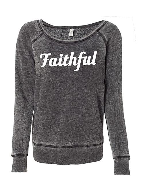 Faithful Sweatshirt (Sponge Fleece)