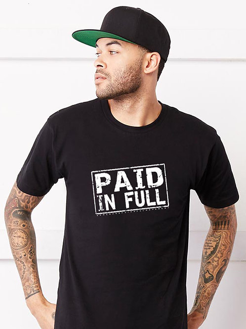 Paid In Full T-Shirt (Black)