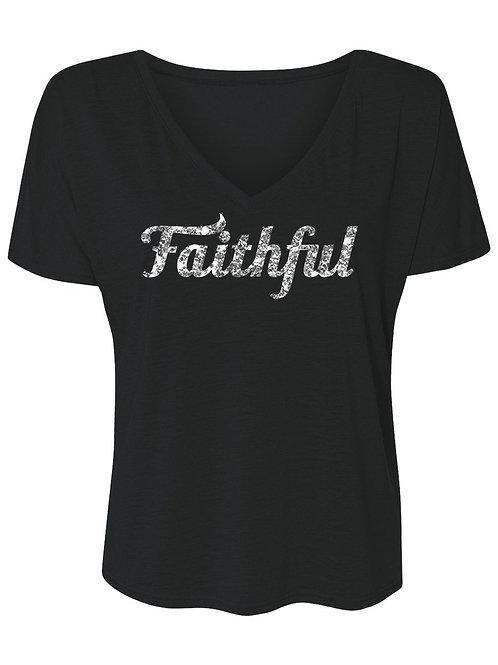 Faithful Glitter V-T