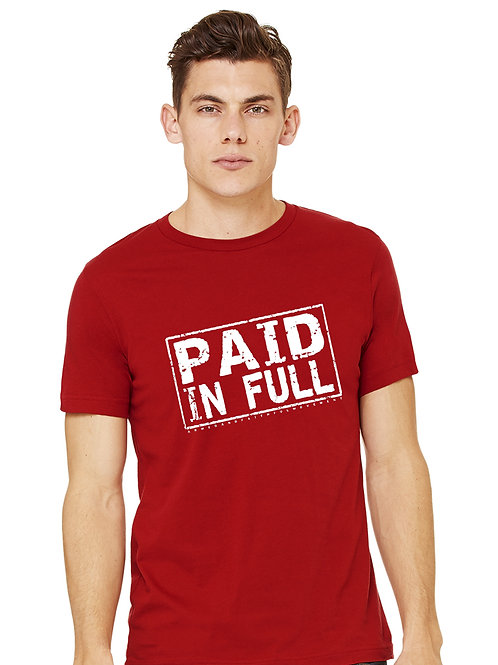 Paid In Full (Cardinal Red)