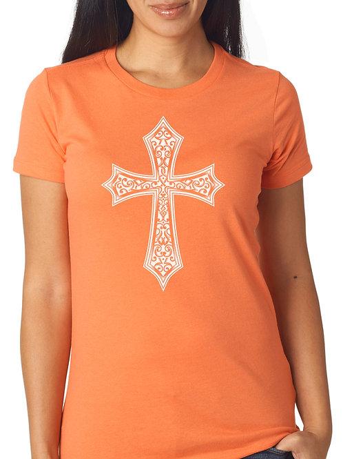The Cross T/ Matthew 16:21 (Orange)