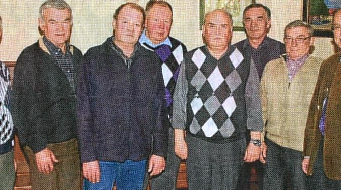 JHV DER STOCKSCHÜTZEN: Vorstand stellt sich geschlossen der Wiederwahl
