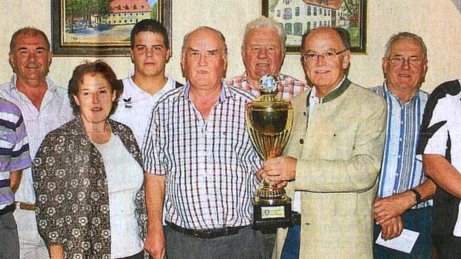 GEMEINDEPOKAL: in ewiger Pokalsieger-Rangliste hochgeklettert