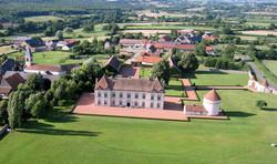 Chatea de Vianges Aerial View