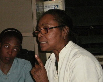 Huit femmes haïtiennes : regards croisés (7) - Sabine Manigat