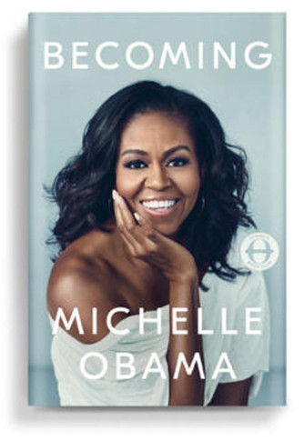 "Le mémoire de Michelle Obama ""Becoming"" se vendent à 10 millions d'exemplaires"