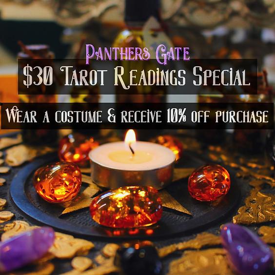 Halloween Special & Tarot Readings