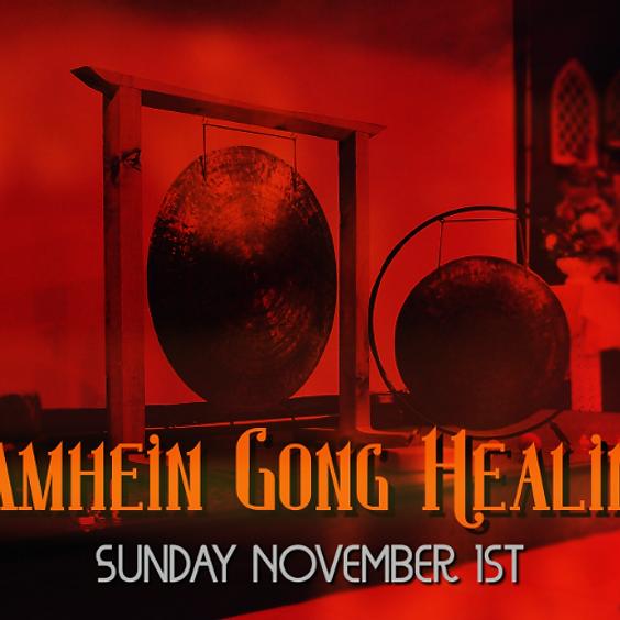 Samhain Gong Healing