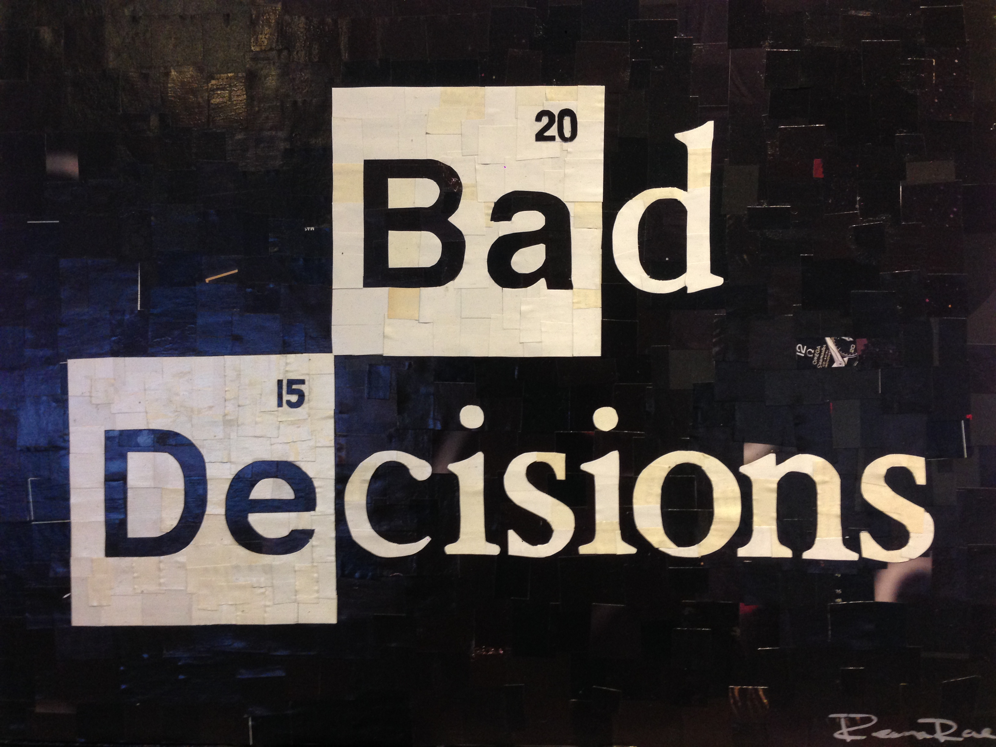 BAD DECISIONS LOGO