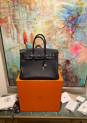 Hermes Birkin 35 Togo Leather w/ Palladium Hardware