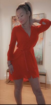 Armani Exchange Shirt Dress Sz. 0 P