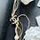 Thumbnail: Chanel Gold tone necklace