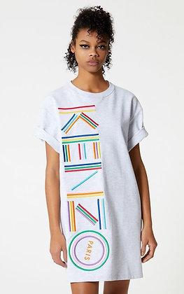 Kenzo Embroided T-Shirt Dress Sz. XS