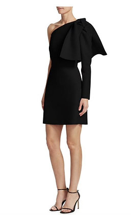 MSGM Asymmetrical Black Bow Dress Sz. 38