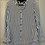 Thumbnail: The Kooples Striped Blouse w/Leather Collar