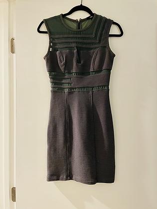 Kimberly Ovitz Mesh Bodycon Dress S