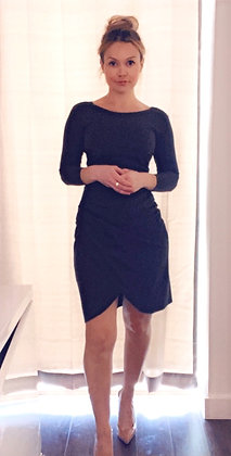 Armani Ruched Dress Sz. 2