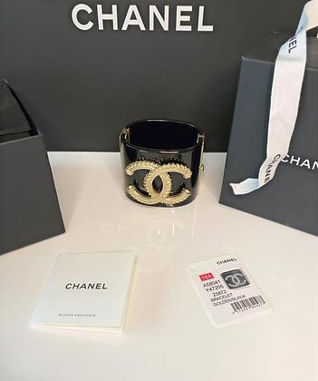 Chanel CC Resin Cuff