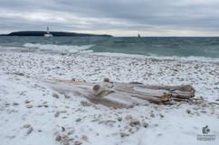 Driftwood on the Straits of Mackinac