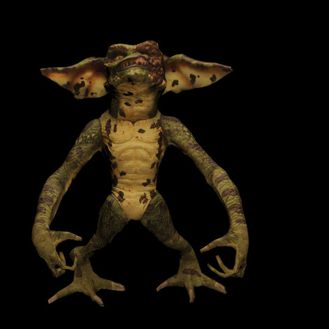 High quaity render of the gremlin.