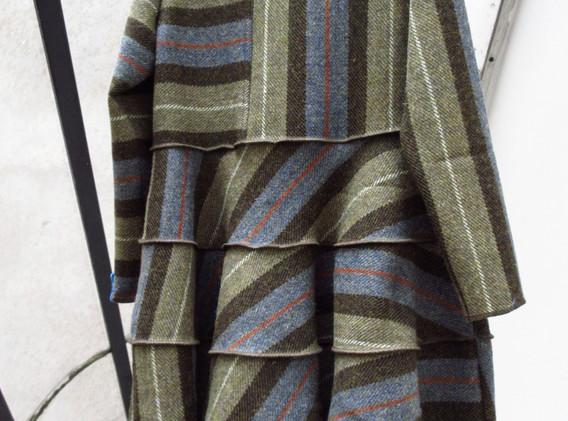 Striped Harris back