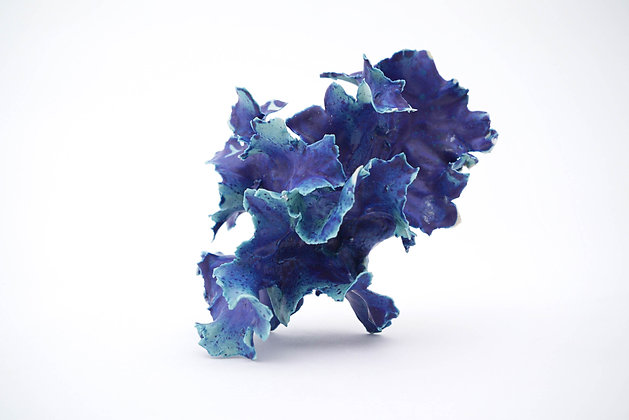 Deep Turquoise Furl