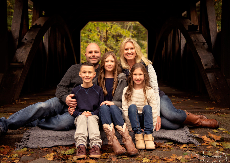Family Session: Southford Falls, Southbury, CT SBS Photography