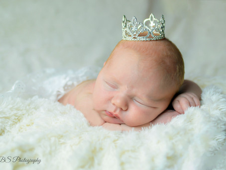 CT Newborn Session: A Session Fit for a Princess