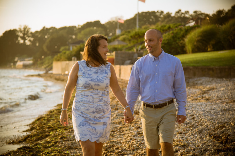 Engagement Photographer CT: SB Photography Connecticut Guilford Beach: Guilford, CT