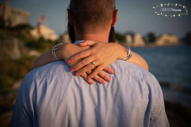 Guilford Beach Engagement Session: Guilford, CT SBS Photography