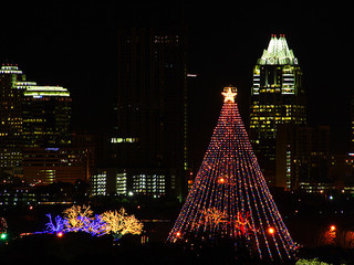 The Lighting of the 49th Annual Zilker Holiday Tree