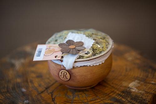 Bylinková Mydlová drť do Kúpeľa Nechtík (keramická miska)