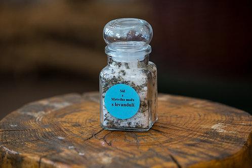 Soľ z Mŕtveho mora s Levanduľou