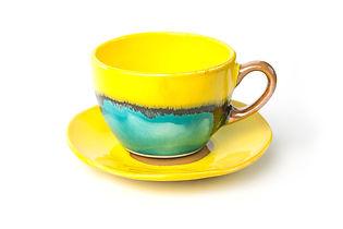 šálky a podšálky na čaj