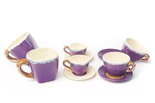 šálky a podšálky na čaj a kávu