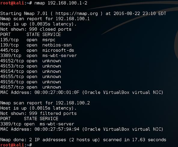 NMAP: NETWORK MAPPER
