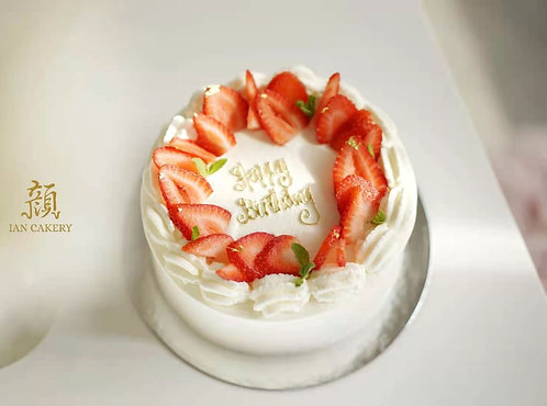 Classic Strawberry Cream Cake