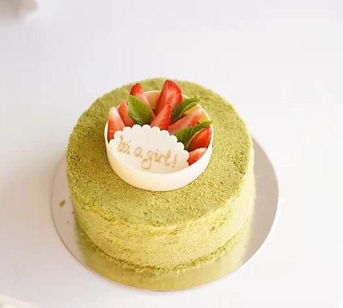 Matcha Yuzu Double Fromage Cheese Cake