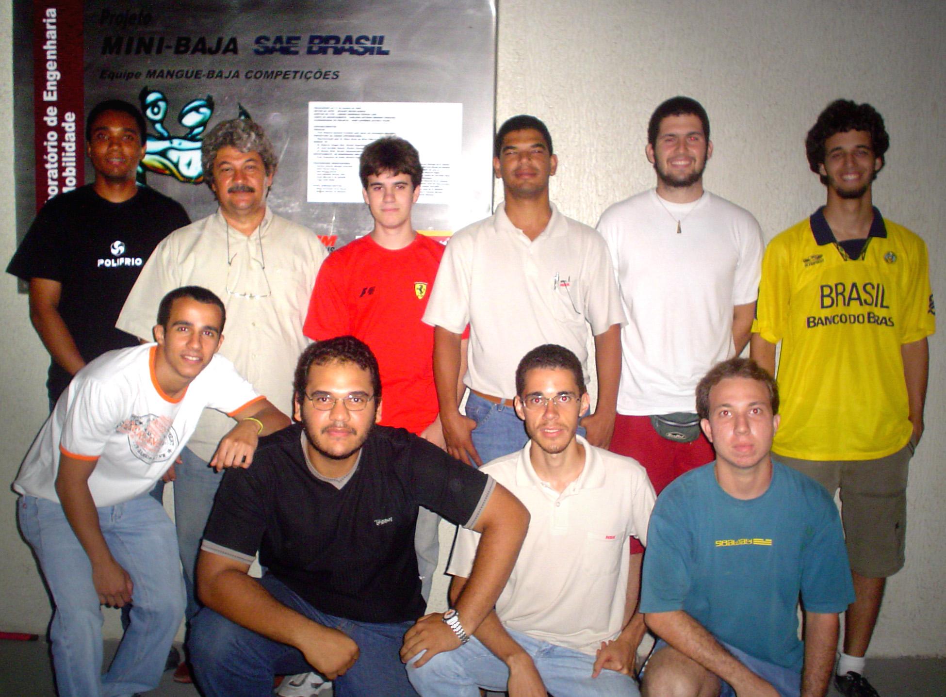 Equipe Mangue Baja 1